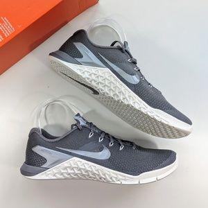 Nike Metcon 4 Gunsmoke/Metallic Cool Grey